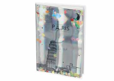 Блокнот Holographiс Paris with Sparkles and Water