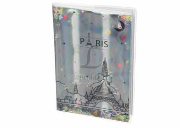 Блокнот Holographiс Paris with Sparkles and Water - 3